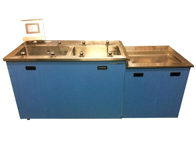 純水装置搭載超音波洗浄装置